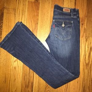 Levi's Too Superlow Flare Jeans